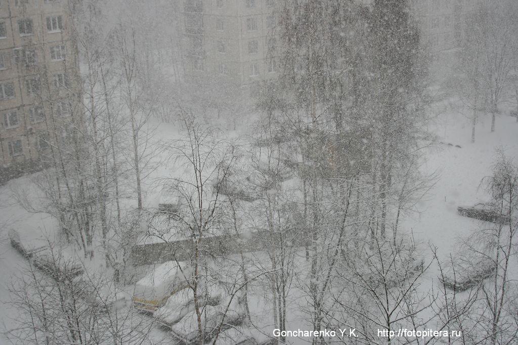 Снегопад - 1