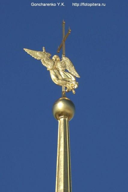 Ангел - один из символов Санкт-Петербурга