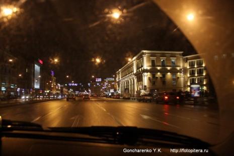 Лиговский проспект в районе Московского вокзала
