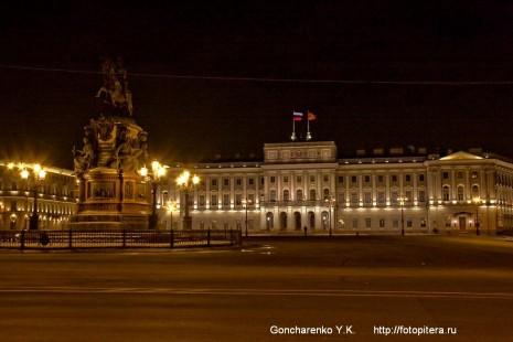 Мариинский дворец - здание Законодательского собрания СПб