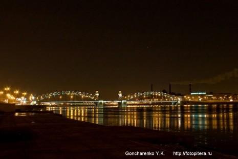 Мост императора Петра Великого (Большеохтинский мост)