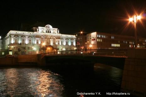 Лештуков мост. Большой драматический театр им.  Товстоногова