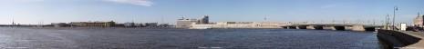 Правый берег Невы между Троицким и Литейным мостами