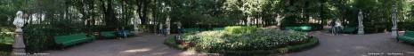В Летнем саду, фотопанорама